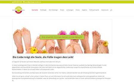 AVVM Projektbeispiel Podologie Menden